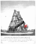 William Herschel's 40 foot telescope at Slough, Berkshire, 1795.